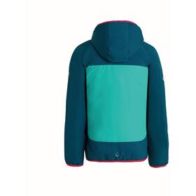 Regatta Volcanics II Jas Kinderen blauw/turquoise